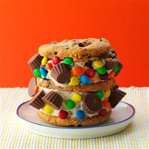 Candy Craze Ice Cream Sandwiches Recipe