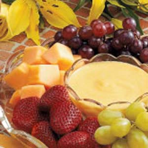 Peachy Fruit Dip Recipe