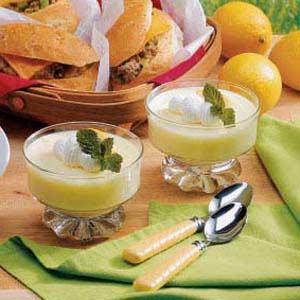 Fluffy Lemon Dessert Recipe