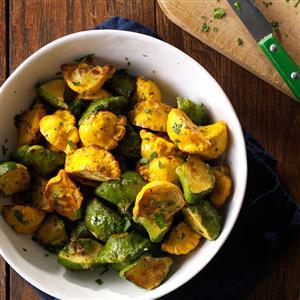 Garlic-Herb Pattypan Squash Recipe