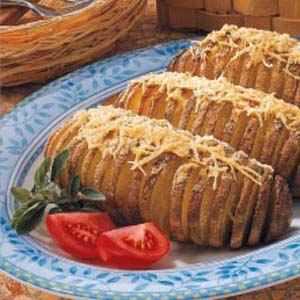 Roasted Fan-Shaped Potatoes Recipe