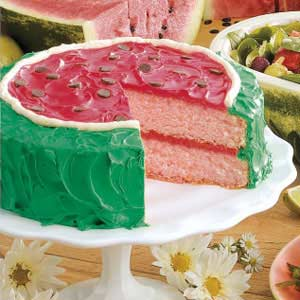 Watermelon Cake Recipe Taste of Home
