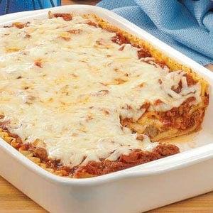 Homemade Meatball Lasagna Recipe