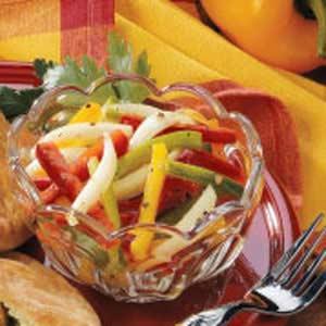 Quick Three-Pepper Salad Recipe