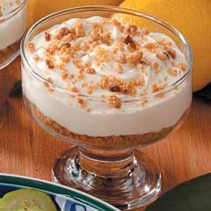 Creamy Lemonade Cups Recipe