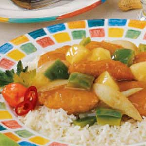 Sweet-Sour Chicken Nuggets Recipe