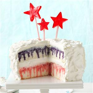 Red White Blueberry Poke Cake Recipe Taste of Home