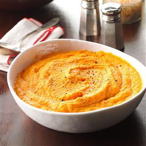 Company Mashed Carrots Recipe
