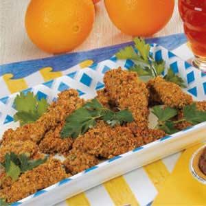 Nutty Chicken Fingers Recipe