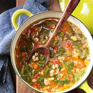 Sausage & Greens Soup Recipe