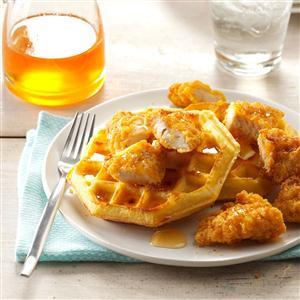 Chicken & Waffles Recipe