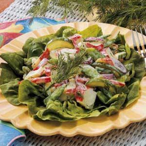 Dilled Crab Salad Recipe