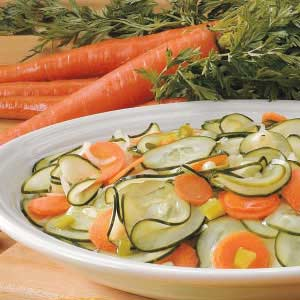 Cukes and Carrots Recipe
