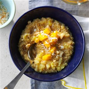 Tropical Quinoa Breakfast Bowl Recipe