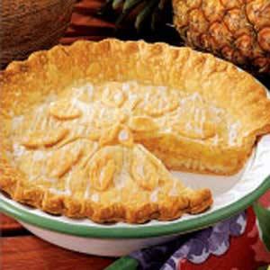 Contest-Winning Glazed Pineapple Pie Recipe