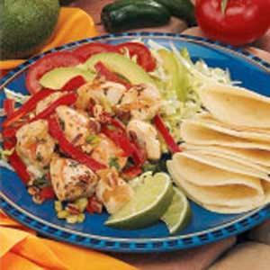Marinated Chicken Fajita Salad Recipe