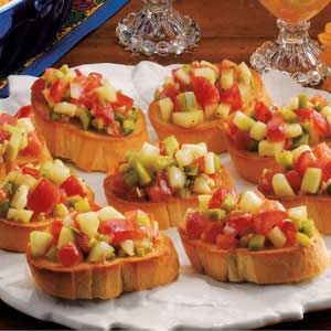 Veggie french bread recipe taste of home veggie french bread recipe forumfinder Choice Image