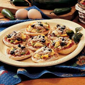 Egg Pizzas Recipe