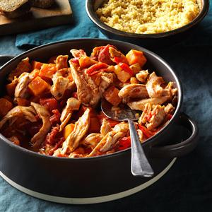 Harvesttime Chicken with Couscous Recipe