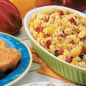 Pasta and Peppers Recipe