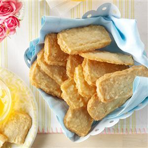 Slice & Bake Coconut Shortbread Cookies Recipe