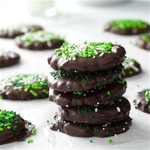 Mint Chocolate-Covered Cookies Recipe