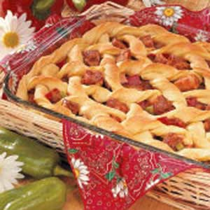 Barbecued Pork Potpie Recipe