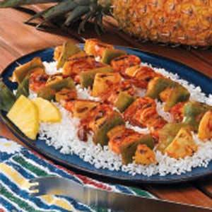 Grilled Shrimp Kabobs Recipe