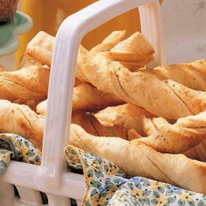 Soft Italian Bread Twists Recipe