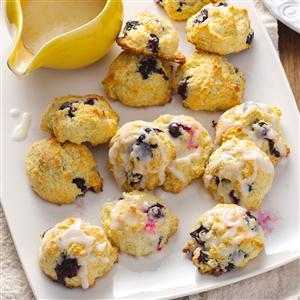 Lemon Blueberry Drop Scones Recipe