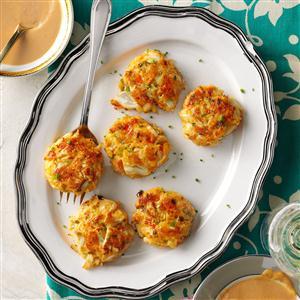 Crab Cakes with Peanut Sauce Recipe