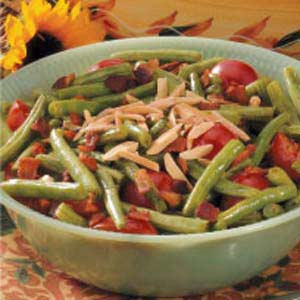 Beans with Cherry Tomatoes Recipe