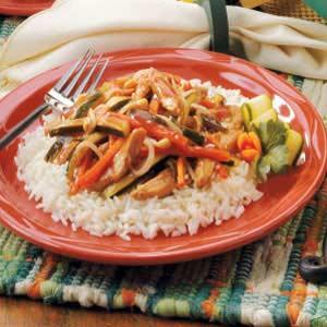 Cranberry Turkey Stir-fry Recipe