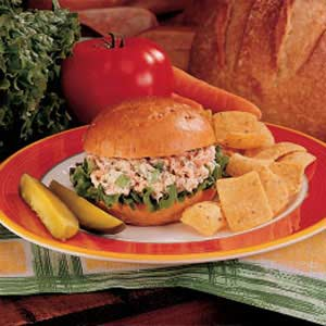 Salmon Salad Sandwiches Recipe
