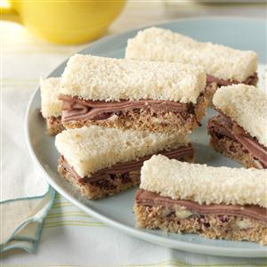 Roast Beef Finger Sandwiches Recipe
