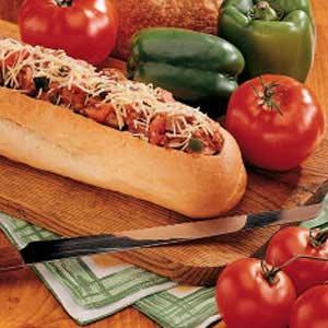 Sausage-Stuffed Loaf Recipe