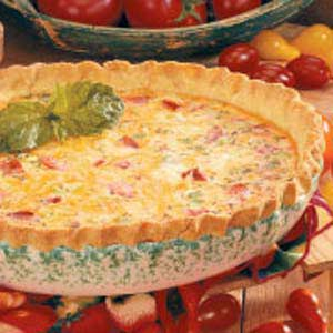 Best-of-Show Tomato Quiche