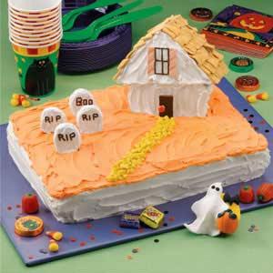 Haunted House Cake Recipe