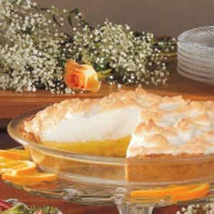 Sunshine Orange Meringue Pie Recipe