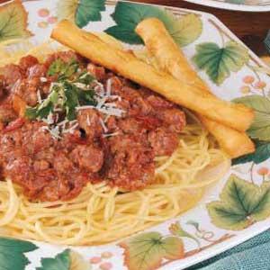 Spaghetti 'n' Meat Sauce Recipe