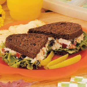 Waldorf Chicken Salad Sandwiches Recipe