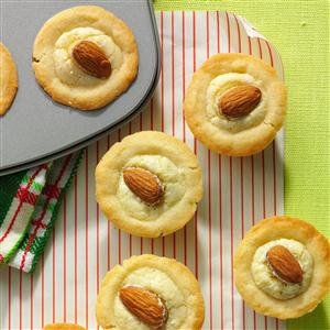 Marzipan Cups with Currant Jelly Recipe
