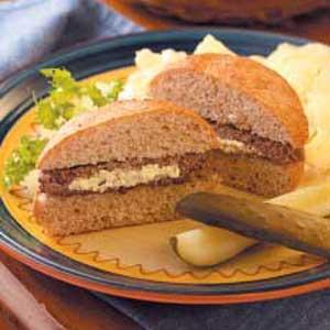 Horseradish Burgers Recipe