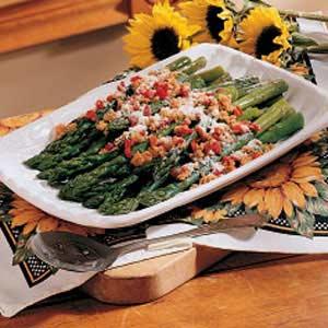 Asparagus with Pimientos Recipe