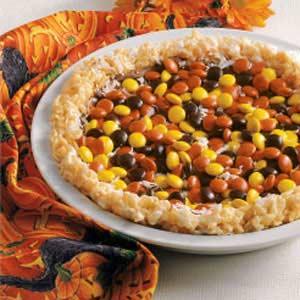 Peanut Butter Candy Pie Recipe
