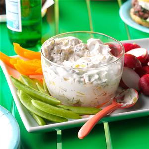 Grilled Leek Dip Recipe
