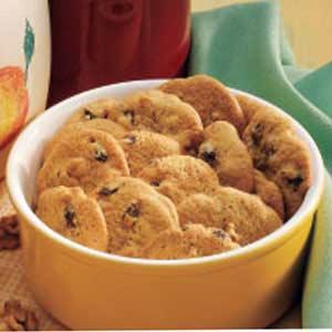 Cinnamon Raisin Cookies Recipe
