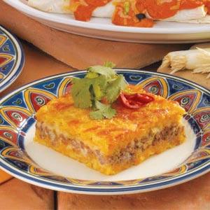 Beefy Jalapeno Corn Bake Recipe