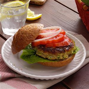 Zucchini Burgers Recipe