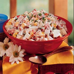 Ham 'n' Cheese Potato Salad Recipe
